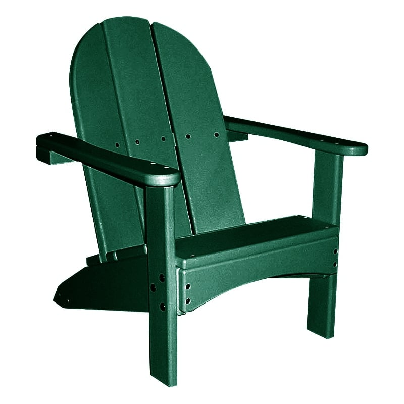 recycled plastic kids adirondack chair. Black Bedroom Furniture Sets. Home Design Ideas