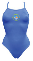 World's Largest Swimming Lesson Thin Strap Swimsuit