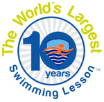 World's Largest Swimming Lesson Temporary Tattoo (100PK)