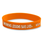 World's Largest Swimming Lesson Wristband