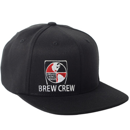 6d65a83a597cf7 Black Lifeguards Without Borders Brew Crew Snap Back Hat