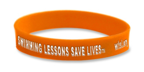 World S Largest Swimming Lesson Wristband