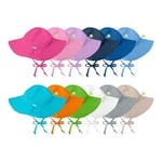 Children's Solid Brim Sun Protection Hat