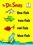 Dr. Seuss One Fish Two Fish Red Fish Blue Fish Hardcover