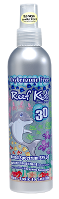 Reef Safe® Reef Kids Eco-Friendly Biodegradable Sprayable Suncreen SPF 30+