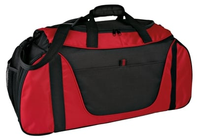 "Two Tones Duffel Bag 27"" x 11"" X 10"""