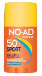 NO-AD Sport Stick SPF 50