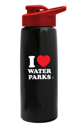 26 oz. I Heart Waterparks Water Bottle