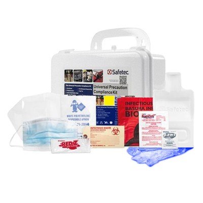 OSHA Personal Universal Precaution Kit in hard case