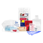 OSHA Personal Protection Response Kit in Poly Bag