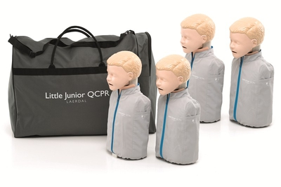 Laerdal Little Junior QCPR Four Pack