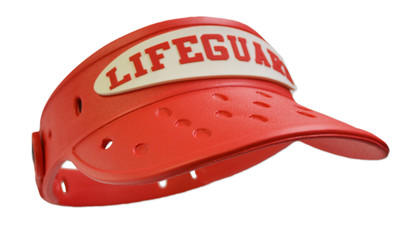 Lifeguard EVA Visor Red f86e0254465