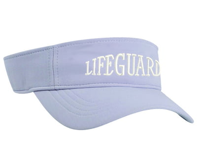 Silver Lifeguard Performance Visor