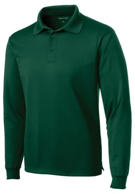 Long Sleeve Micropique Polo