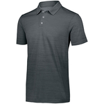 Men's Striated Polo