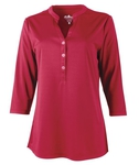 Ladies UPF 50+ Henley