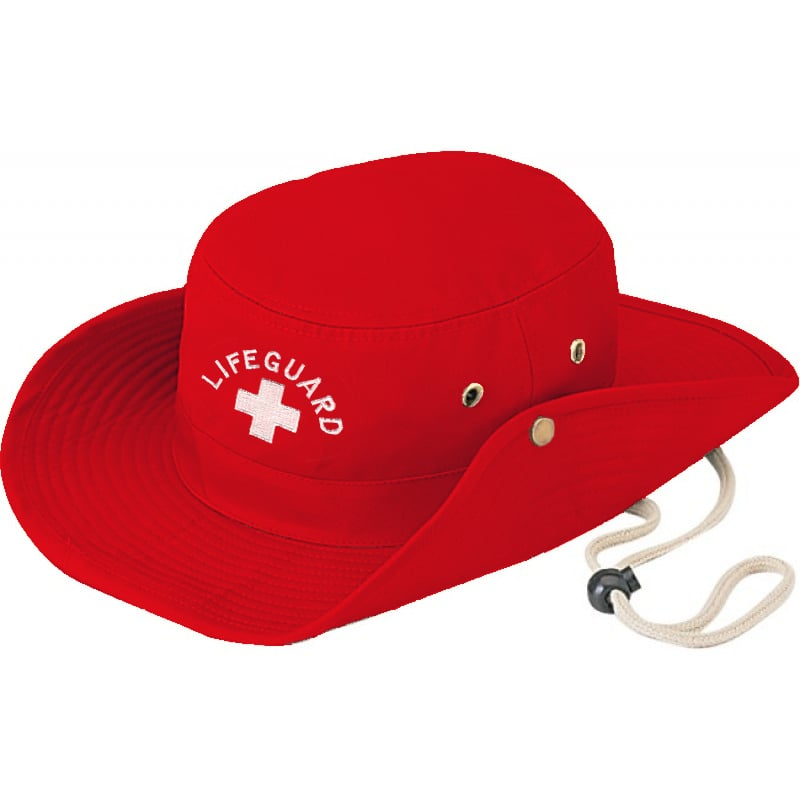 78f2658297f84 Lifeguard Red Aussie Hat