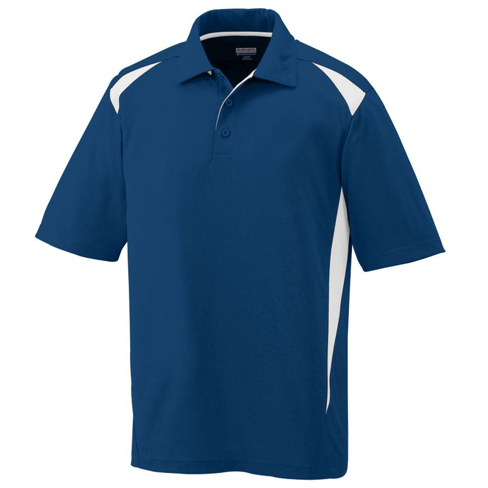 Men 39 s premier moisture wicking polo custom polo shirts for Men s polyester polo shirts