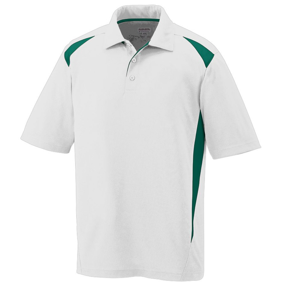 Mens Premier Moisture Wicking Polo Custom Polo Shirts