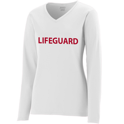 Ladies Lifeguard Moisture Wicking Long Sleeve T-shirt