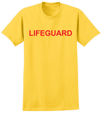 Lifeguard T-shirt - Bright Yellow