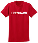 Lifeguard T-Shirt - Red