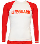L/S Chlorine Resistant Lifeguard Rash Guard