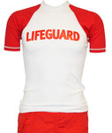 S/S Chlorine Resistant Lifeguard Rash Guard